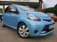2014 TOYOTA AYGO 1.0 VVT-I MOVE WITH STYLE 5d 68 BHP £5500.00