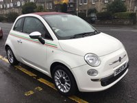 USED 2009 59 FIAT 500 1.2 C LOUNGE 3d 69 BHP OUR  PRICE INCLUDES A 6 MONTH AA WARRANTY DEALER CARE EXTENDED GUARANTEE, 1 YEARS MOT AND A OIL & FILTERS SERVICE. 6 MONTHS FREE BREAKDOWN COVER.