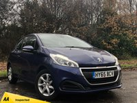 USED 2015 65 PEUGEOT 208 1.2 ACTIVE 3d 82 BHP REAR REVERSING CAMERA, TOUCH SCREEN MEDIA