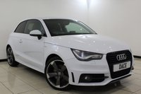 USED 2014 63 AUDI A1 2.0 TDI S LINE BLACK EDITION 3DR 143 BHP Full Service History FULL SERVICE HISTORY + HALF LEATHER SEATS + BLUETOOTH + MULTI FUNCTION WHEEL + AIR CONDITIONING + ELECTRIC WINDOWS + 18 INCH ALLOY WHEELS