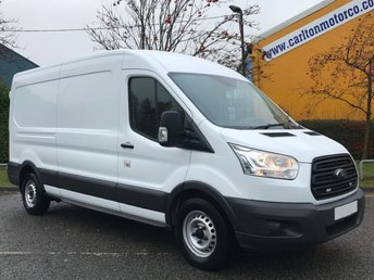 2015 FORD TRANSIT 2.2 350 L3H2 LWB [ MOBILE WORKSHOP ] A/C TDCi 125 Low Miles £10950.00