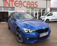 2017 BMW 3 SERIES 3.0 335D XDRIVE M SPORT SHADOW EDITION TOURING 5d AUTO 308 BHP £29495.00