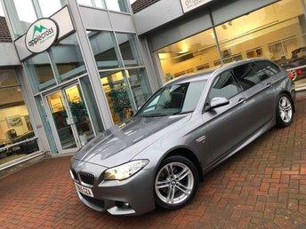 2015 BMW 5 SERIES 2.0 520D M SPORT TOURING 5d AUTO 188 BHP £18750.00