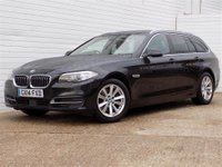 2014 BMW 5 SERIES 2.0 518D SE TOURING 5d AUTO 148 BHP £10489.00