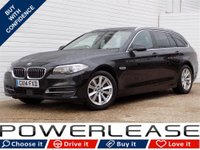 USED 2014 14 BMW 5 SERIES 2.0 518D SE TOURING 5d AUTO 148 BHP 30POUNDTAX STOP+GO CRUISE CONT