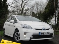 USED 2013 63 TOYOTA PRIUS 1.8 PLUG-IN HYBRID 5d AUTO  **HIGH SPECIFICATION**LOW RUNNING COSTS**
