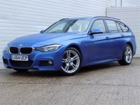 2014 BMW 3 SERIES 3.0 330D M SPORT TOURING 5d AUTO 255 BHP £13880.00