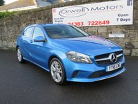 2016 MERCEDES-BENZ A CLASS 1.5 A 180 D SPORT EXECUTIVE 5d 107 BHP £14500.00