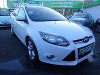 USED 2012 12 FORD FOCUS 1.6 ZETEC TDCI 5d 113 BHP ** 01543 877320 ** JUST ARRIVED ** FULL SERVICE HISTORY **DIESEL