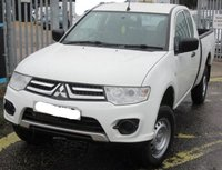 USED 2015 15 MITSUBISHI L200 2.5 DI-D 4X4 4WORK CLUB CAB 134 BHP