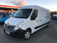 USED 2016 16 RENAULT MASTER LM35 BUSINESS PLUS 2.3 DCi LWB 125