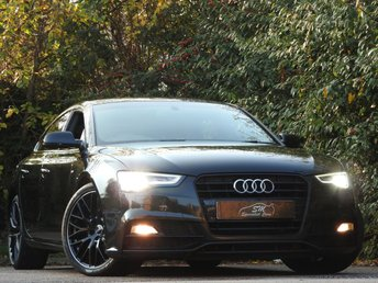 2015 AUDI A5 2.0 TDI S LINE BLACK EDITION PLUS 5d AUTO 187 BHP £15150.00