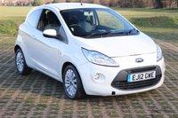 2012 FORD KA 1.2 ZETEC 3d 69 BHP £3995.00