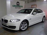 2014 BMW 5 SERIES 2.0 520d SE 4dr AUTO £10990.00
