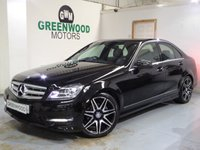 2013 MERCEDES-BENZ C CLASS 2.1 C220 CDI AMG Sport Plus 7G-Tronic Plus 4dr £12494.00