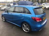 USED 2015 15 MERCEDES-BENZ B-CLASS 1.5 B180 CDI AMG LINE 5d AUTO 107 BHP IN METALLIC BLUE WITH ONLY 23000 MILES. APPROVED CARS ARE PLEASED TO OFFER THIS MERCEDES-BENZ B CLASS 1.5 B180 CDI AMG LINE 5 DOOR AUTOMATIC 107 BHP IN METALLIC BLUE WITH A HALF LEATHER INTERIOR AND A GREAT SPEC INCLUDING ALLOYS,AIR CON,REAR CAMERA,ACTIVE PARK ASSIST.XENON HEADLIGHTS,REAR PARKING SENSORS AND MUCH MORE WITH A FULL MERCEDES BENZ MAIN DEALER SERVICE HISTORY.