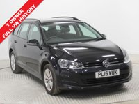 USED 2015 15 VOLKSWAGEN GOLF 1.6 SE TDI BLUEMOTION TECHNOLOGY DSG 5d AUTO 109 BHP 1 Owner, Full VW Service History this is a stunning example of a VW Golf 1.6 SE Bluemotion Technology AUTO in Pearlescent Deep Black with Adaptive Cruise Control, Bluetooth, Air Conditioning, Alloys, DAB Radio, 2 Keys and with an MOT until 1st June 2019. Nationwide Delivery Available. Finance Available at 9.9% APR Representative.