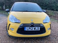 USED 2012 12 CITROEN DS3 1.6 DSTYLE PLUS 3d 120 BHP