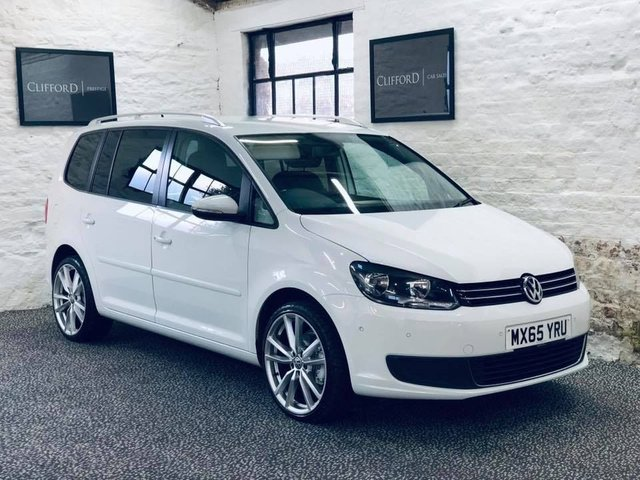 2015 65 VOLKSWAGEN TOURAN 1.6 SE TDI BLUEMOTION TECHNOLOGY 5d 103 BHP