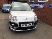 USED 2009 59 CITROEN C3 PICASSO 1.4 PICASSO VTR PLUS 5d 95 BHP 5 SERVICE STAMPS