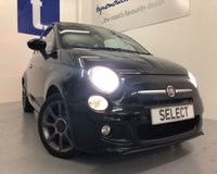 USED 2014 14 FIAT 500 1.2 S 3d 69 BHP SORRY NOW SOLD £5499-£500 Min p/ex allowance -bal to pay £4999