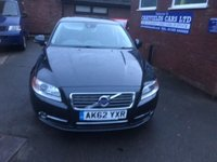 USED 2012 62 VOLVO S80 1.6 D2 SE 4d AUTO 113 BHP AUTOMATIC AUTO DIESEL, FULL LEATHER, FULL HISTORY