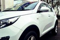 USED 2015 65 KIA SPORTAGE 1.7 CRDI 1 ISG 5d 114 BHP STUNNING WHITE SPORTAGE WITH LOW MILES