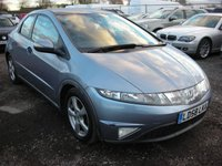 2008 HONDA CIVIC 1.8 ES I-VTEC 5d 139 BHP £SOLD