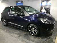 USED 2016 16 DS DS 3 1.6 BLUEHDI 1955 S/S 3d 98 BHP ZERO Road tax    :    Bluetooth  :   Satellite Navigation     :     DAB Radio     :     Full leather upholstery     :     Isofix fittings     :     Rear parking sensors    :    Full Main Dealer service history