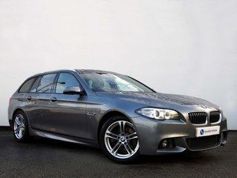 2014 BMW 5 SERIES 2.0 520D M SPORT 4d AUTO 188 BHP £17495.00