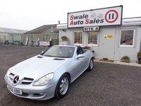 2005 MERCEDES-BENZ SLK 1.8 SLK200 KOMPRESSOR 2 DOOR CONVERTIBLE AUTO 161 BHP £5495.00