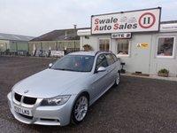 2007 BMW 3 SERIES 2.0 320D M SPORT DIESEL 5 DOOR AUTO 161 BHP £4695.00
