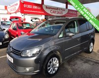 USED 2011 61 VOLKSWAGEN TOURAN 2.0 SPORT TDI BLUEMOTION TECHNOLOGY 7 SEATER
