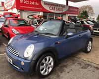 2005 MINI CONVERTIBLE 1.6 COOPER 2d 114 BHP *ONLY 48,000 MILES* £3695.00