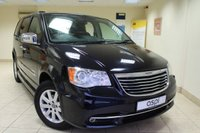 2012 CHRYSLER GRAND VOYAGER 2.8 CRD LIMITED 5d AUTO 161 BHP DISABILITY CONVERSION £16950.00