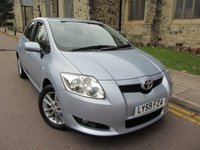 2010 TOYOTA AURIS 1.3 TR VVT-I S/S 5d 99 BHP £4995.00