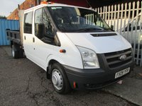 2009 FORD TRANSIT 350 LWB Double Cab Steel Tipper 100 PS *ONLY 51000 MILES* £SOLD