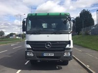 USED 2008 08 MERCEDES-BENZ ACTROS 11.9 3241K DAY 1d 408 BHP