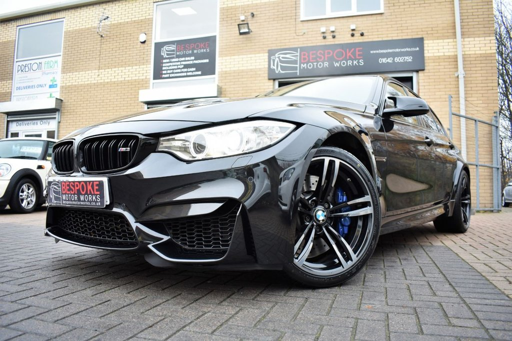 USED 2016 16 BMW M3 3.0 TWIN TURBO DCT
