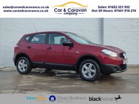 USED 2012 62 NISSAN QASHQAI 1.6 VISIA 5d 117 BHP All Dealer History + Bluetooth Buy Now, Pay Later Finance!