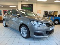 USED 2015 15 CITROEN C4 1.6 BLUEHDI FEEL 5d 98 BHP £ 0 ROAD TAX + AVERAGE MPG OF 72 + FULL MAIN DEALER SERVICE HISTORY + CRUISE CONTROL + AIR CONDITIONING + ALLOYS + RDS RADIO/MP3