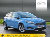USED 2016 16 FORD FOCUS 1.5 ZETEC TDCI 5d 118 BHP £0 TAX, BIG MPG, DAB,BLUETOOTH