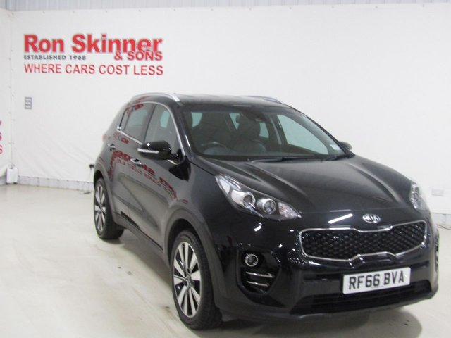 View our 2017 66 KIA SPORTAGE 1.7 CRDI 3 ISG 5d 114 BHP