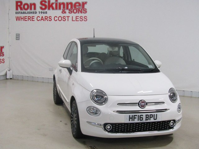 View our 2016 16 FIAT 500 0.9 TWINAIR LOUNGE 3d 85 BHP