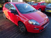 USED 2012 12 FIAT PUNTO 0.9 TWINAIR 3d 85 BHP Low Mileage, Comprehensive Fiat Service History + Serviced by ourselves, MOT until May 2019, Excellent fuel economy! ZERO Road Tax! 6 Speed Gearbox