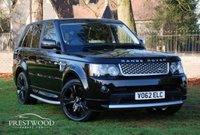 USED 2012 62 LAND ROVER RANGE ROVER SPORT 3.0 SDV6 AUTOBIOGRAPHY AUTO [255 BHP] 4X4