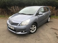 USED 2009 59 TOYOTA VERSO 2.0 TR D-4D 5d 125 BHP