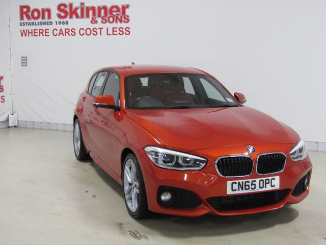 View our 2015 65 BMW 1 SERIES 1.5 116D M SPORT 5d 114 BHP