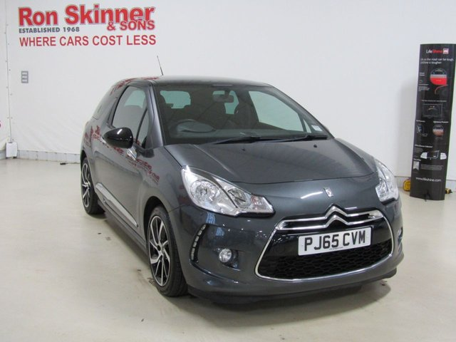 View our 2015 65 DS DS 3 1.6 BLUEHDI DSTYLE NAV S/S 3d 98 BHP