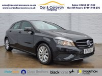 2014 MERCEDES-BENZ A CLASS 1.6 A180 BLUEEFFICIENCY SE 5d 122 BHP £11150.00